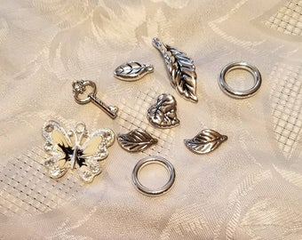 Charms for crafting or jewelry making