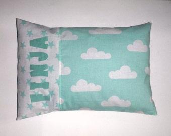 Pillowcase kids pillow clouds