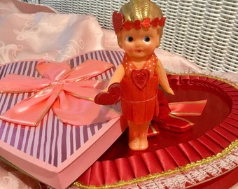 Darling Up-Scaled, Antique Carnival Doll
