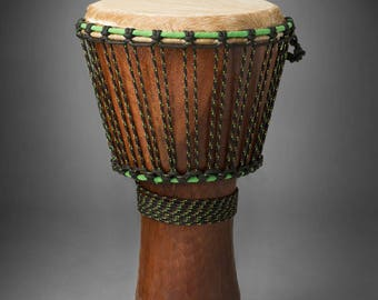 Djembe Drum-Professional Quality-Brand New Skin, Rings, and Rope