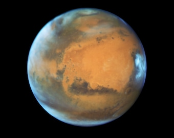 View of Planet Mars, Hubble, Space Photo