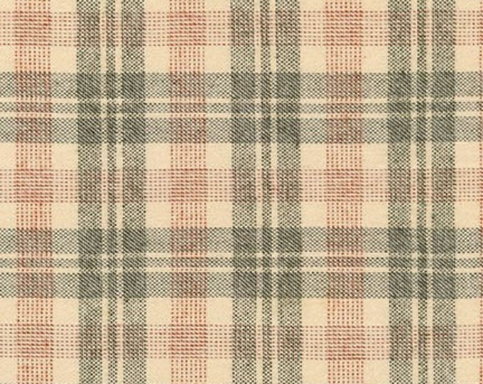 Tahoe Flannel in Olive by Robert Kaufman
