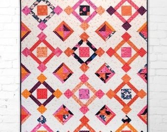 Fair & Square Pattern by Hunter's Design Studio Free Shipping in the US