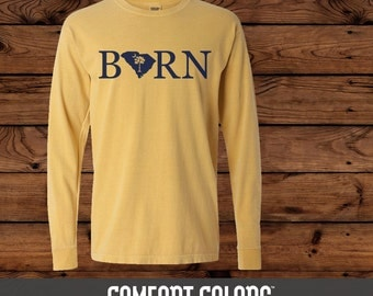 State Pride BORN - Comfort Colors Long Sleeve T-shirt