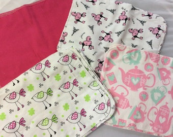 "Large reuse wipes  11 x8""  set of 3"