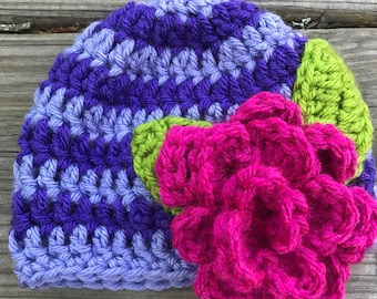 Crochet Beanie, Infant Hats, Hats, Photo Props, All sizes to adult