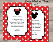 You're Going to Disney Letter, Disney Trip announcement letter, print at home, instant Download Editable Mickey Minnie Mouse Disney Letter