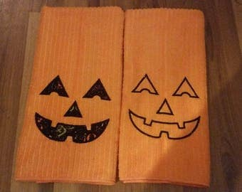 halloween kitchen or bath hand towel - Halloween Bath Towels