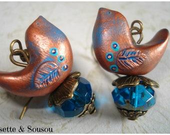 Birds blue copper folk mind
