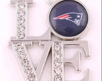 LOVE New England Patriots pendant - Qty: 1