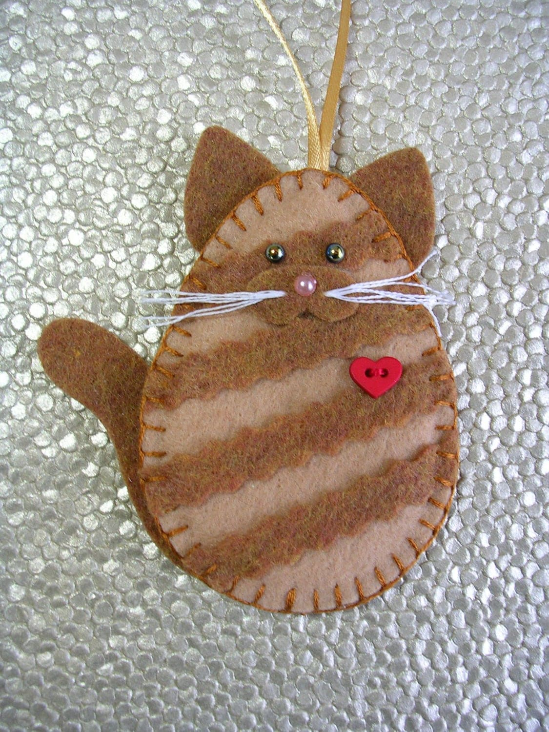 Tabby cat ornament - Like This Item