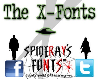 The X-Fonts Commercial Font