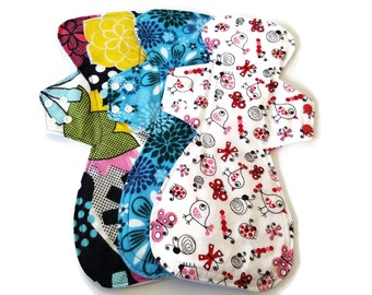 """Made to order set of 3 x 15"""" Reusable Cloth Pads Heavy Flow"""