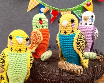 Crochet Budgerigar Pattern