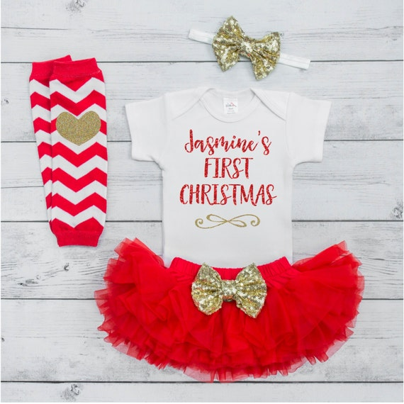 Baby S First Christmas Outfit