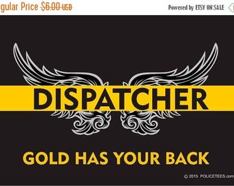 911 Dispatcher Decal Etsy