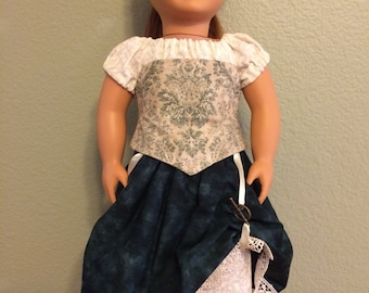 Renaissance Set for 18 inch Doll