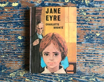 Vintage 1960s Edition of Jane Eyre by Charlotte Brontë