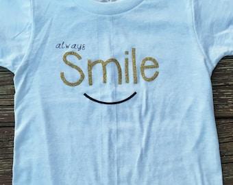 Always Smile Children's T-Shirt/Onesie