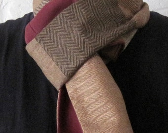 Handmade Recycled Lightweight Wool Scarf