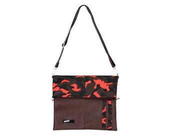 Camouflage Bag Camo Messenger Bag Cross Bag Crossbody College Bag School Bag 197