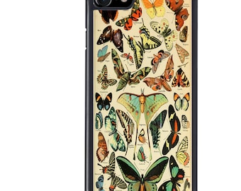 Butterfly Phone Case, Butterflies, Natural History, Nature, iPhone 5 5s 6 6s 6+ 6s+ SE 7 7+ iPod 5 6 Case, Plus