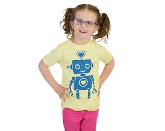 Robot Tshirt Girls