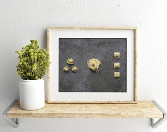 pasta v. one // food photography print // kitchen decor // kitchen wall art  // dining room wall art // rustic wall art // italian food