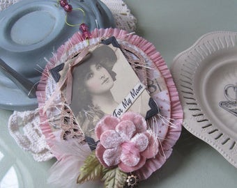 Pink Mother's Day Decor - Victorian Mother's Day Gift