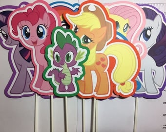 x7 My Little Pony Inspired Centerpieces
