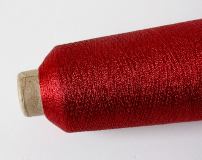 Super Fine Metallic Thread - Dusty Pink, Red, Ruby & Apricot
