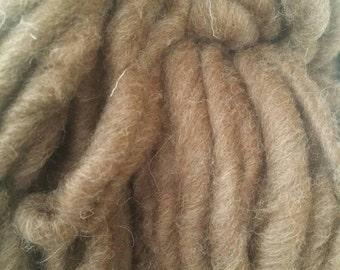 Super chunky yarn, handspun yarn, Manx Loaghtan yarn, super bulky yarn,hand spun yarn, chunky wool yarn, wool yarn, British wool yarn, 100g