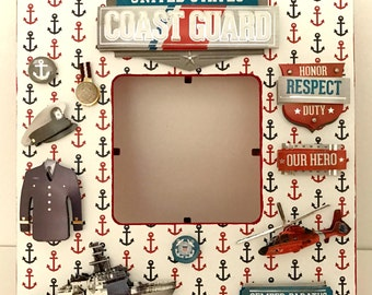 Coast Guard Frame Etsy