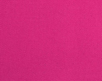 "Fuchsia Duck Cloth 60"" Wide By The Yard 9.3 oz"