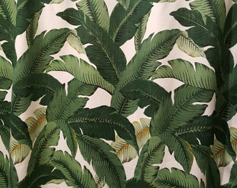 Shower Curtain Tropical Print in Tommy Bahama Indoor/Outdoor Swaying Palms Aloe with Grommets Available in many Sizes