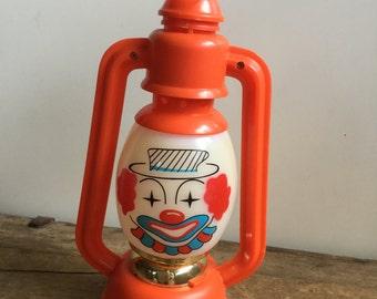 Vintage Toy Clown Lantern