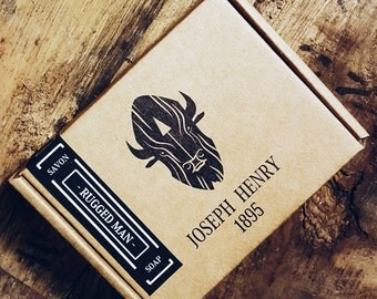 Rugged Man - Joseph Henry 1895 Handcrafted Soap - Natural Exfoliating Charcoal Soap