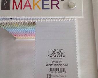 Moda Bella Solid White Bleached - 9900/98 Fabric