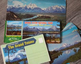 Vintage Grand Teton Postcard Collection