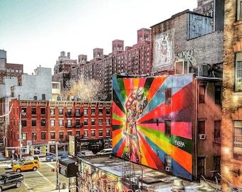 NYC Graffiti (Made to Order Print)