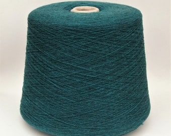 Recycled cashmere blend yarn on cone, per 50g