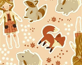 Birch organic of canvas pattern dolls animals sewing package cut and sew dolls 100% organic