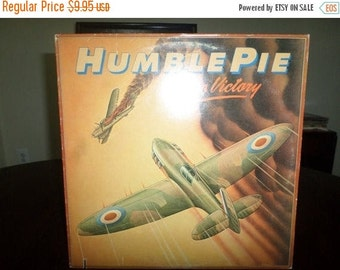 Save 30% Today Vintage 1980 Vinyl LP Record On to Victory Humble Pie Excellent Condition 6413
