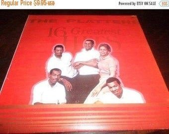 Save 30% Today Vintage 1984 Vinyl LP Record The Platters 16 Greatest Hits Mercury Records Spanish Import Excellent Condition 2989