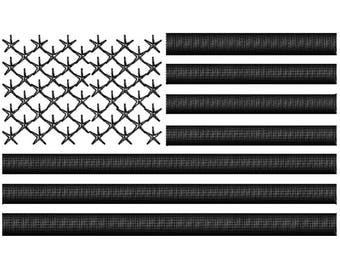 3D PUFF U.S Flag 1 Color