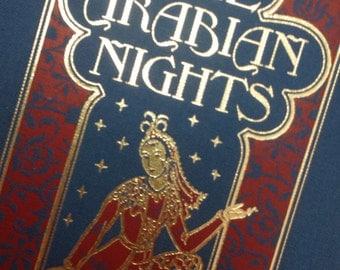 Tales From the Arabian Nights 1898 Scheherazade Edmund Dulac Illustrations 1991