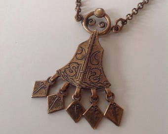 Vintage saga bronze jewelry