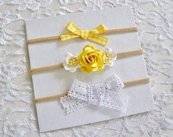 The Bright and Sunny Bow Set