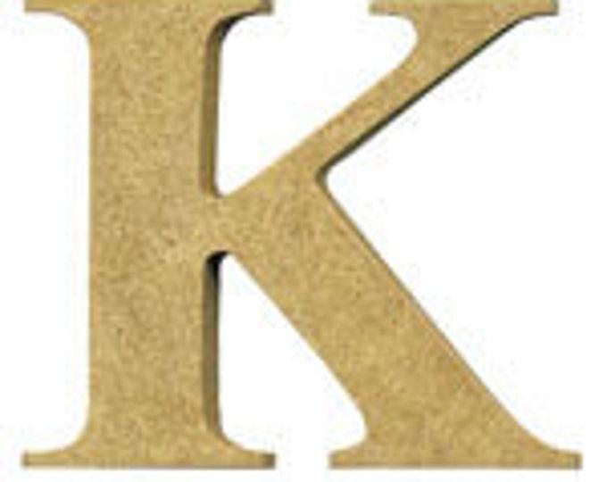 MDF Letter K