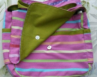 BerryBags pink candystripe babywearing bag